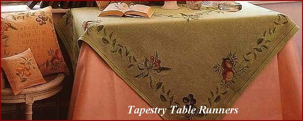 All Tapestry Table Runners